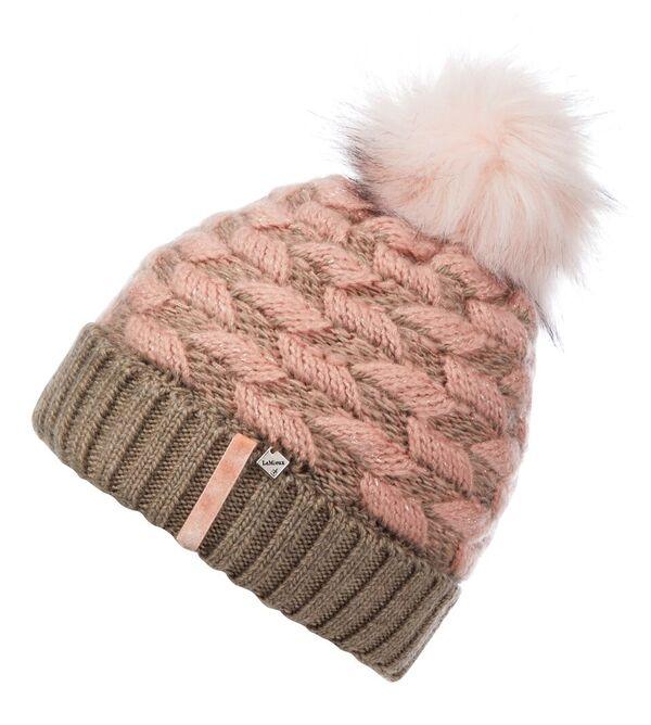 My LeMieux Banff Pom Pom Beanie-Blush Pink